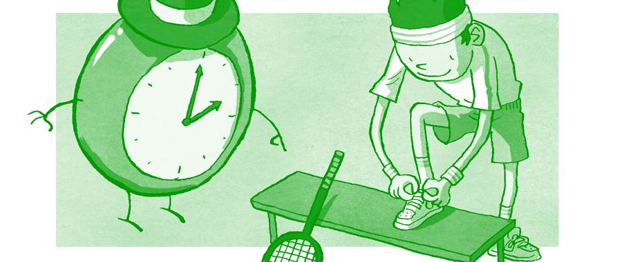 Organización del tiempo (Text en castellà)